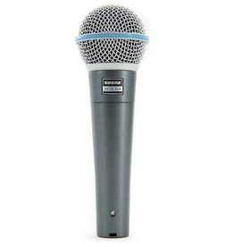 NEW Shure Beta 58A Supercardioid Dynamic Vocal Microphone
