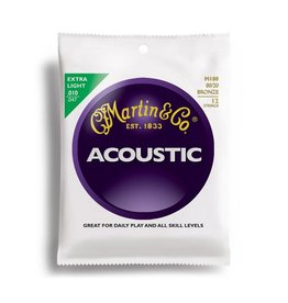 Martin Martin Acoustic 80/20 .010-.047 12 String