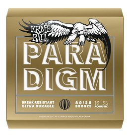 Ernie Ball Ernie Ball Paradigm 80/20 Bronze Acoustic Guitar Strings .013-.056 Medium