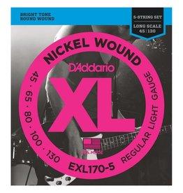 D'Addario EXL170-5 5 string
