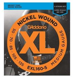D'Addario EXL160-5 5 string