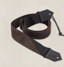 Taylor Taylor Sueded/Poly Brown Strap