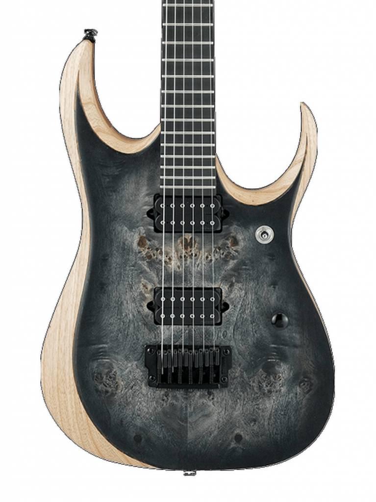 Ibanez DEMO Ibanez RGD Iron Label RGDIX6PB - Surreal Black Burst