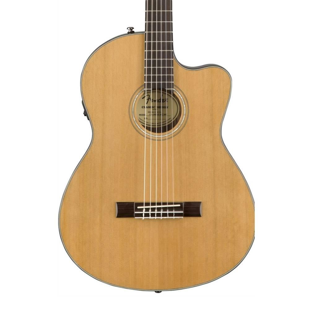 Fender Fender CN-140SCE Acoustic-Electric Guitar, Natural