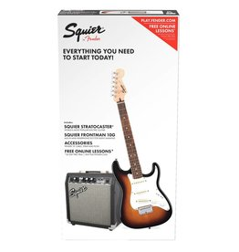 Squier Squier SS Strat Pack w/Guitar & Amplifier, Sunburst