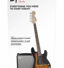 Squier NEW Squier Affinity Series Precision Bass PJ Pack - Sunburst