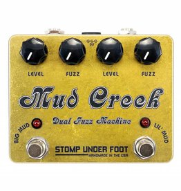 Stomp Under Foot Mud Creek Dual Fuzz Machine