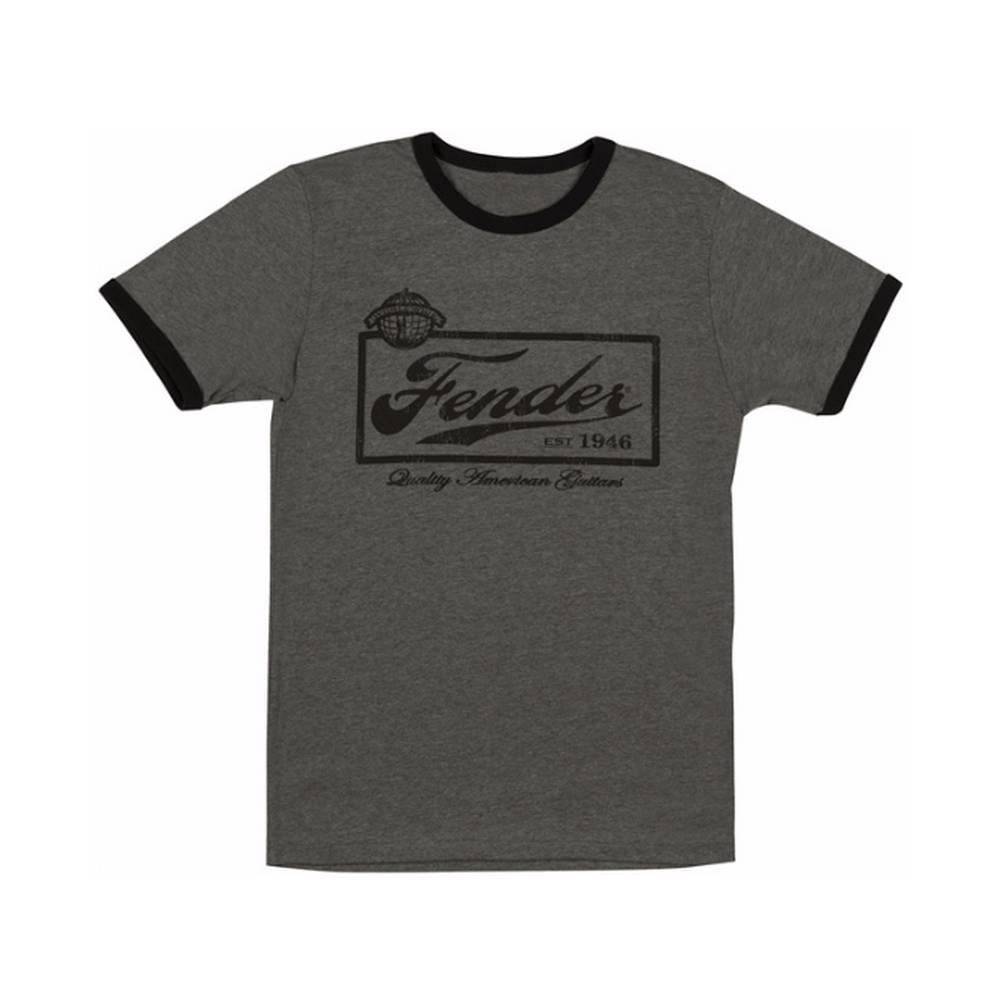Fender Fender Beer Label Shirt LG