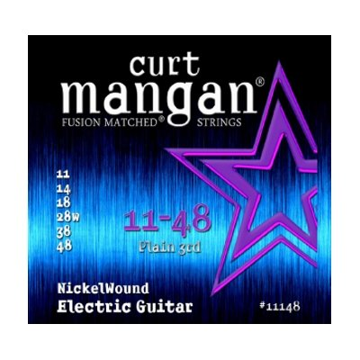 Curt Mangan Curt Mangan Nickel Wound Strings  .011-.048