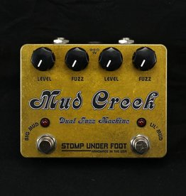 Stomp Under Foot USED Stomp Under Foot Mud Creek Dual Fuzz Machine (012)