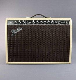 Fender DEMO Fender Limited Edition '65 Deluxe Reverb Tan/Oxblood Weber Alnico