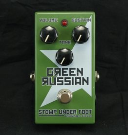 Stomp Under Foot USED Stomp Under Foot Green Russian (458)
