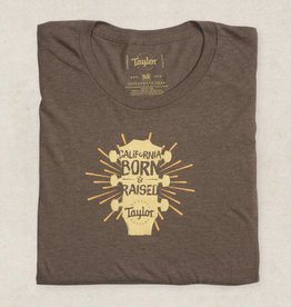 Taylor NEW Taylor Ladies CA Born Short Sleeve T - Mocha - Large