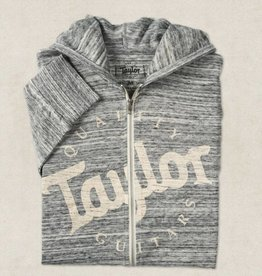 Taylor NEW Taylor Urban Zip Hoodie - Grey - Large