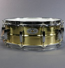 "Pearl USED Pearl Sensitone Custom Alloy Brass Shell Snare 14"" x 5.5"" (782)"
