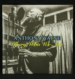 Local Music Anthony Wayne - Bury Who We Are (CD)