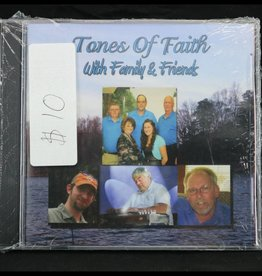 Local Music Tones Of Faith - With Family & Friends (CD)