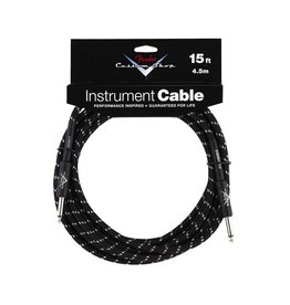 NEW Fender Custom Shop Cable - 15' - Black Tweed
