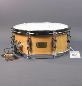 "Tama NEW Tama S.L.P. Series Snare - 5.5"" x 14"" - Natural Figured Maple"