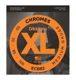D'Addario D'Addario ECB82 Chromes Flatwound Medium Bass Strings
