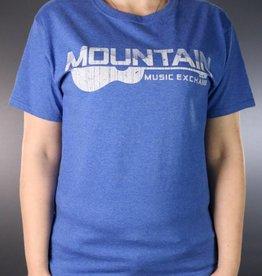 MME MME Worn Logo T-Shirt Retro Heather Royal Medium
