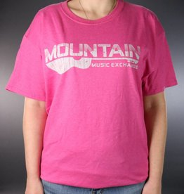 MME MME Worn Logo T-Shirt Retro Heather Pink Large