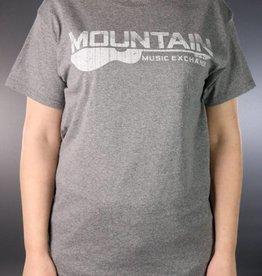 MME MME Worn Logo T-Shirt Graphite Heather XL