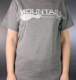 MME MME Worn Logo T-Shirt Graphite Heather Medium