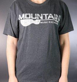 MME MME Worn Logo T-Shirt Black Heather Medium