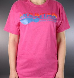 MME MME 2 Color Logo T-Shirt Retro Heather Pink XL