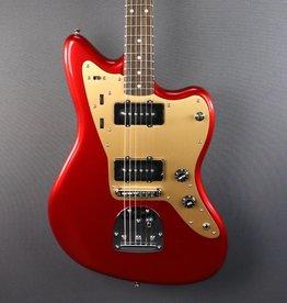 Squier DEMO Squier Deluxe Jazzmaster w/ Tremolo - Candy Apple Red (688)