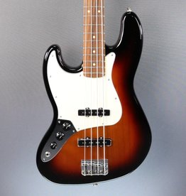 Fender DEMO Fender Player Jazz Bass LH - 3 Tone Sunburst (024)