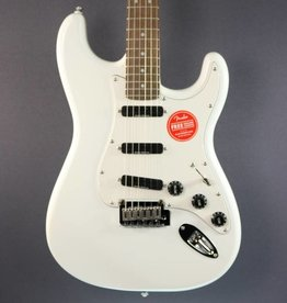 Squier DEMO Squier Deluxe Hot Rails Stratocaster - Olympic White (613)
