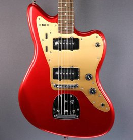 Squier DEMO Squier Deluxe Jazzmaster w/ Tremolo - Candy Apple Red (476)