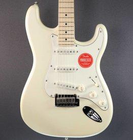 Squier DEMO Squier Deluxe Stratocaster - Pearl White (397)
