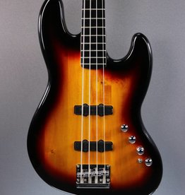 DEMO Squier Deluxe Jazz Bass Active IV - 3-Color Sunburst (473)
