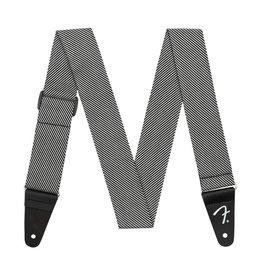 """Fender NEW Fender Modern Tweed Strap - White/Black"""""""