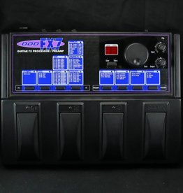 DOD USED DOD FX7 Guitar FX Processor/Preamp (054)