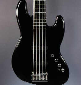 Squier DEMO Squier Deluxe Jazz Bass Active V - Black (389)