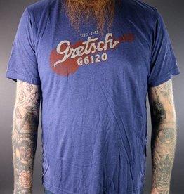 Gretsch NEW Gretsch G6120 Tee - Navy - S