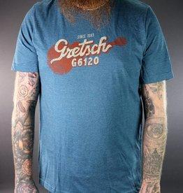 Gretsch NEW Gretsch G6120 Tee - Deep Teal - 2XL