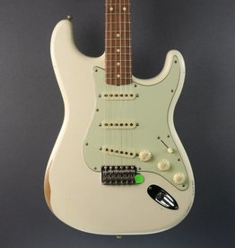 Fender DEMO Fender Road Worn '60s Stratocaster - Olympic White (680)