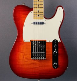 Fender SCRATCH AND DENT Fender FSR Standard Telecaster Plus Top - Aged Cherry Burst (324)