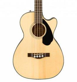 Fender NEW Fender CB-60SCE Bass - Natural (160)