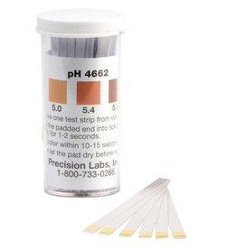pH Papers 100/Vial (4.6-6.2)(Beer)