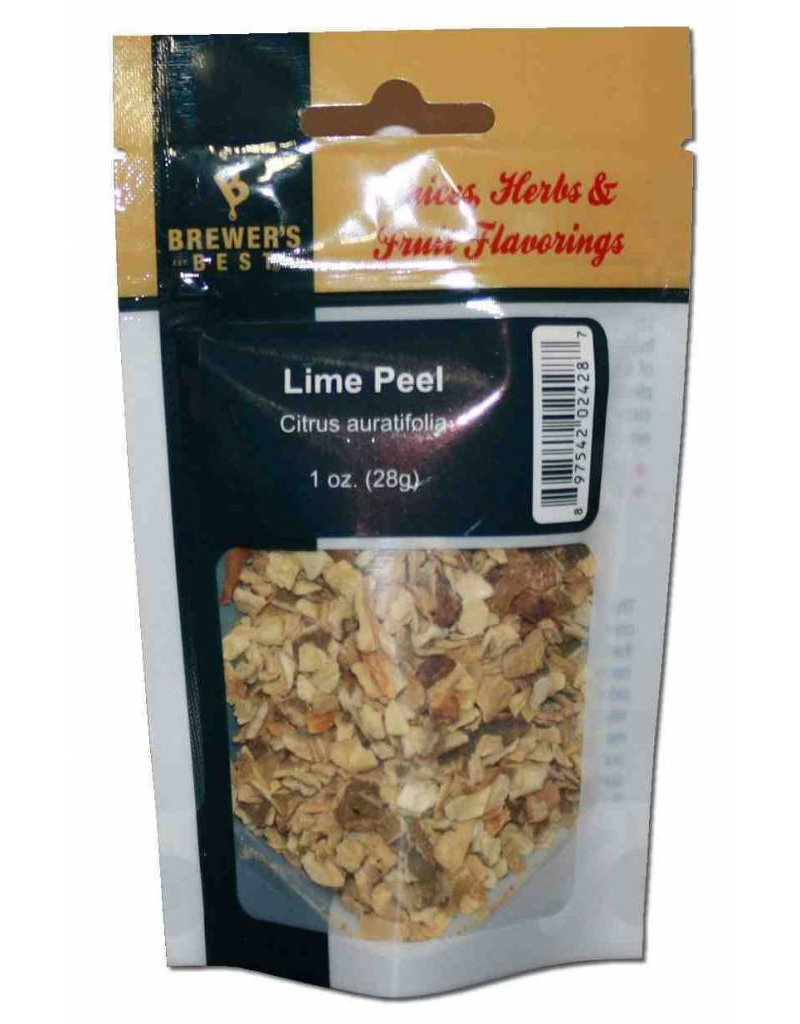 Brewers Best Lime Peel 1 oz
