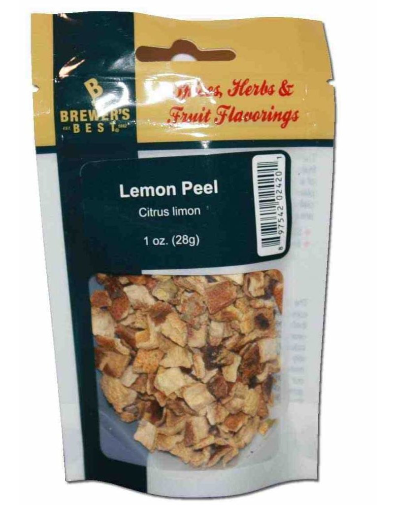 Brewers Best Lemon Peel 1 oz