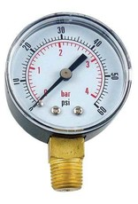 Foxx Equipment Company Regulator Gauge (30 lb)