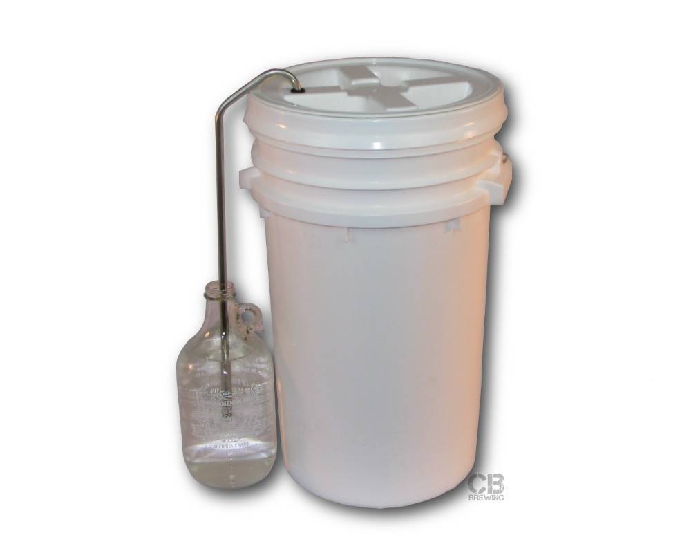 Coldbreak Brewing Blow-Off Tube Stainless (Bucket)