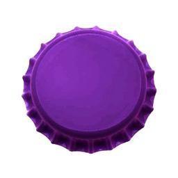 Crown Cap W/Oxy-Liner 144/Bag (Purple)
